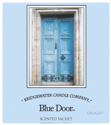 Greenleaf & Bridgwater BLUE DOOR Large Scented Envelope Sachet